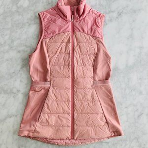 Lululemon Down for It All Vest Misty Rose Pink 6